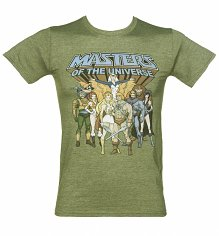 Men's He-Man and She-Ra Masters of the Universe T-Shirt