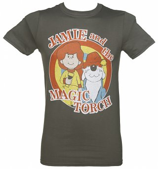 Men's Jamie and the Magic Torch Logo T-Shirt