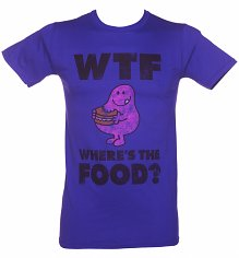 Men's Mr Greedy Where's The Food WTF T-Shirt
