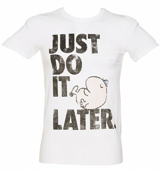 Men's Mr Lazy Just Do It Later T-Shirt