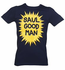 Men's Navy Saul Good Man Better Call Saul T-Shirt