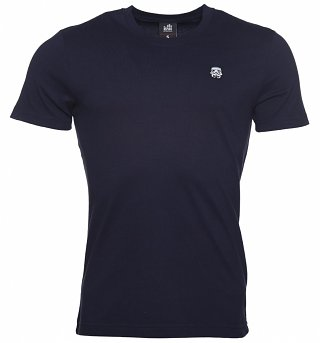 Men's Navy Star Wars Stormtrooper Crest T-Shirt from Chunk