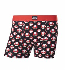 Men's Nintendo Super Mario Brothers Mushroom Boxer Shorts