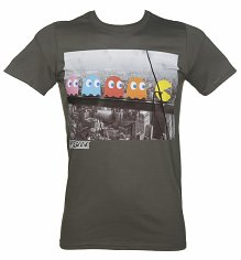 Men's Pac-Man Skyscraper T-Shirt