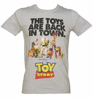 Men's Toy Story Toys Are Back In Town Disney T-Shirt