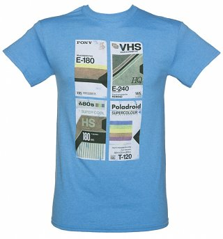 Men's VHS Tapes T-Shirt