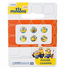 Minions Faces iPhone Button Charms