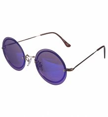 Mirror Lens Round Sunglasses from Jeepers Peepers