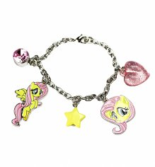 My Little Pony Friendship Is Magic Fluttershy Charm Bracelet