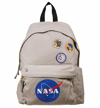 NASA Logo And Badges Backpack