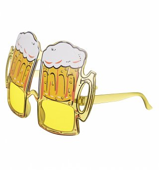 Novelty Beer Goggle Glasses