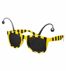 Novelty Bumblebee Sunglasses