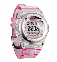 Pink Baby-G Resin Strap Digital Watch BG-1302-4ER