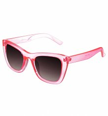 Pink Clear Frame Chunky Sunglasses from Jeepers Peepers