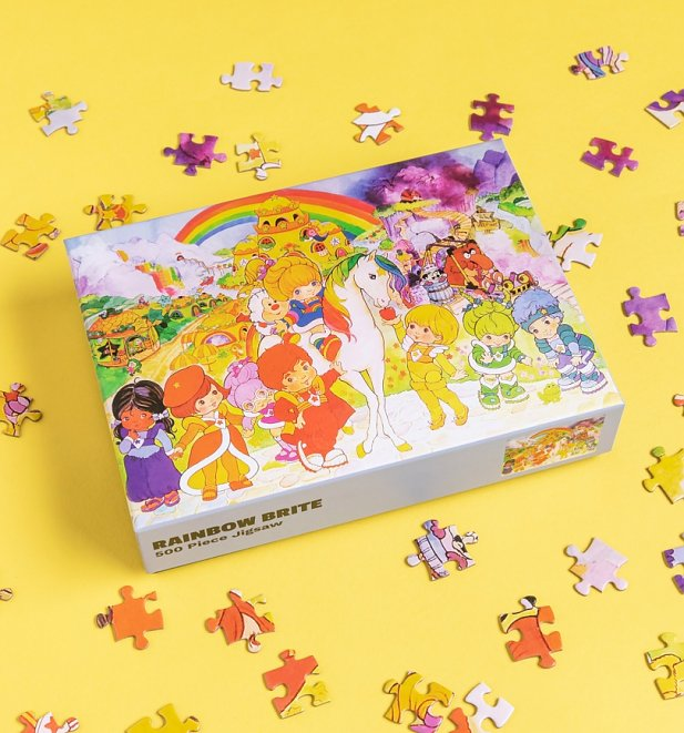 An image of Rainbow Brite 500 Piece Jigsaw Puzzle