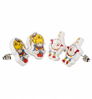 Rainbow Brite Set of 2 Stud Earrings