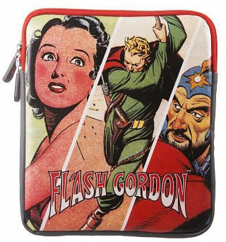Retro Flash Gordon Comic Print Tablet Case