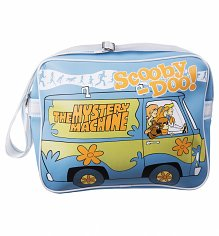 Retro Scooby Doo Mystery Machine Camper Van Messenger Bag