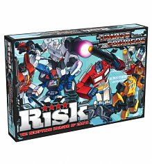 Retro Transformers Risk Game Set