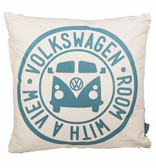 Retro Volkswagen Camper Van Filled Cushion