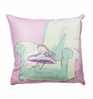 Roald Dahl Matilda 40cm Feather Filled Cushion