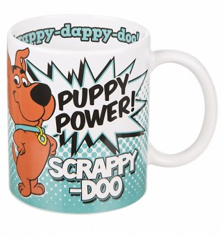 Scrappy Doo Puppy Power Mug