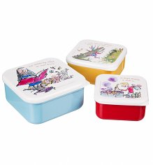 Set Of Three Nested Roald Dahl Snack Boxes