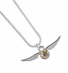 Silver Plated Harry Potter Golden Snitch Necklace