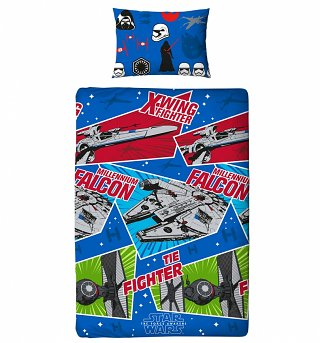 Single Star Wars Episode VII Craft Duvet Cover Set