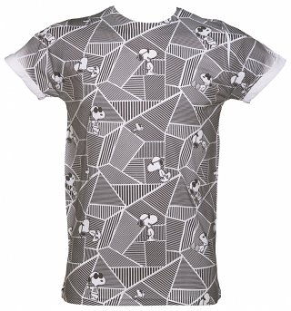 Snoopy Vortex Sublimation print T-Shirt from Retro Fred's