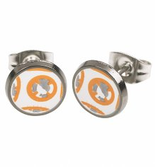 Star Wars BB-8 Droid Stud Earrings