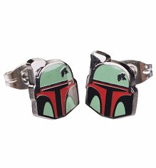 Star Wars Boba Fett Stud Earrings