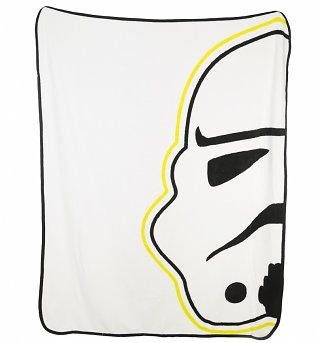 Star Wars Episode VII Stormtrooper Fleece Blanket