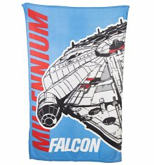 Star Wars Millennium Falcon Fleece Blanket