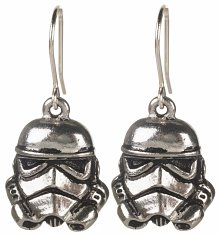 Star Wars Stormtrooper Drop Earrings