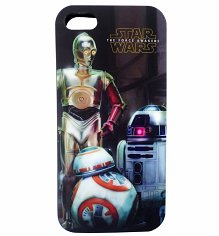 Star Wars VII The Force Awakens Droids iPhone 5 Case