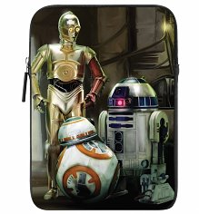 "Star Wars VII The Force Awakens Good Guy Droids 8"" Neoprene iPad Mini Case"