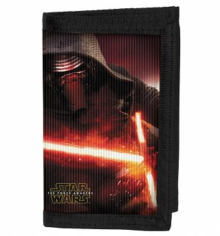 Star Wars VII The Force Awakens Kylo Ren Lenticular Wallet