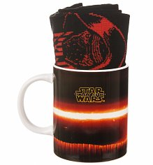 Star Wars VII The Force Awakens Kylo Ren Mug & Sock Set