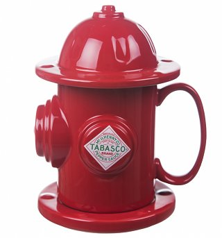 TABASCO Fire Hydrant Soup Mug & Coaster