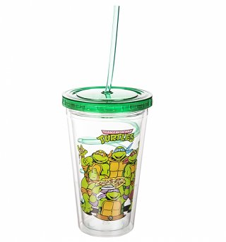 Teenage Mutant Ninja Turtles Cup With Straw