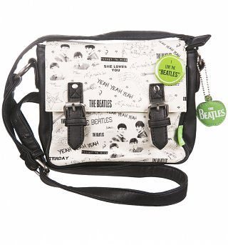 The Beatles Graffiti Mini Satchel Bag from Disaster Designs