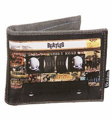 The Beatles Tour Tape Wallet from Disaster Designs