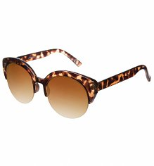 Tortoiseshell Round Clubmaster Sunglasses from Jeepers Peepers