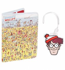 Where's Wally Passport Holder And Luggage Tag