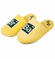 Yellow Breaking Bad Cook Suit Slip On Slippers