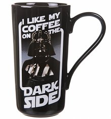 Boxed Darth Vader I Like My Coffee On the Dark Side Latte Mug