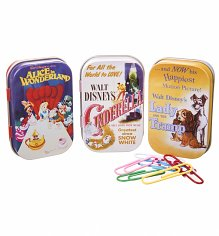 Boxed Disney Classics Film Posters Set Of 3 Tins