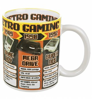 Boxed Retro Games Consoles Mug