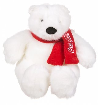 Coca-Cola Plush Polar Bear